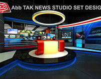 Abb Tak News Studio Set Design 2013