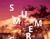 Summer Glitch Flyer
