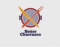 """Diseño de logotipo para """"Señor Churrasco"""""""