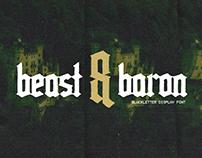 BEAST & BARON - FREE BLACKLETTER FONT