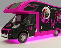 Maybelline truck