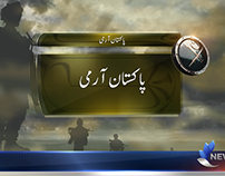 Pakistan Army News Template.