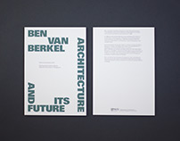Ben Van Berkel's And It's Future