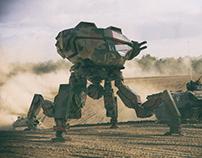 """Assault Battle Mech Project """"LYKOS"""""""
