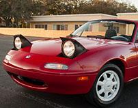 Photography of my own 1995 Mazda Miata