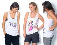 TINIMARTINI / T-shirt prints / label /creation