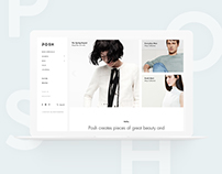 Posh Brand e-Commerce Website