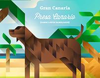 Symbols of Canary islands / Símbolos de las Canarias