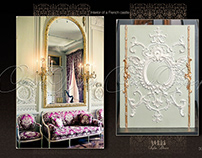 Classical French interior production