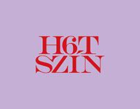 H6TSZÍN Festival identity concept