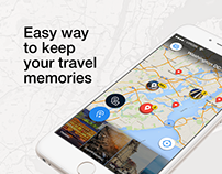 Trip Tracker — Mobile Application design