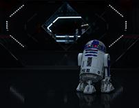 R2-D2 on Starkiller
