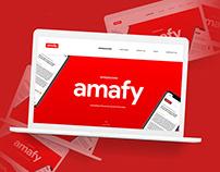Amafy - UX Freelance Project