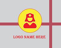 Medical Nurse Logo Template