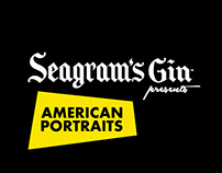 Seagram's Gin Presents American Portraits