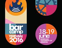 Barcamp Yerevan 2016 identity