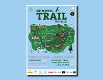Österlen Spring Trail // poster