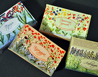 Packaging for Soap with Natural Extracts