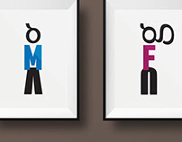 [Typography] Male & Female signs