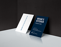 Business Cards | Brian's Kitchen