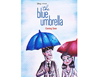 Paperman Meets the Blue Umbrella Keyart