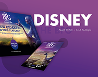 The BFG Disney & Spotify Website