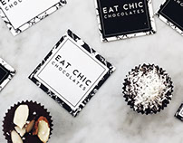 Eat Chic Chocolates Branding