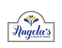 Restaurant Branding for Angela's. A Taste of Puebla