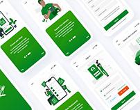 Multipurpose Food/ Restaurants Mobile App UI