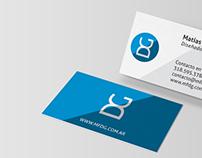 Diseño de marca e identidad para MFDG