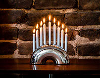 Modern Mensch - The Nosh Menorah