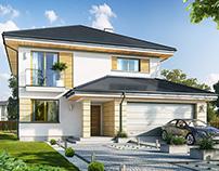 Projekt domu Szmaragd 6