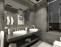 Redesign 3 square meters bathroom | www.epigraph.be