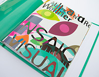 Design Editorial - Livro sobre Alexandre Wollner