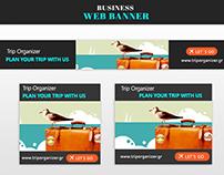 Trip Organizer Web Banner