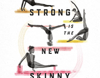 Poster Illustration | Pilates Studio