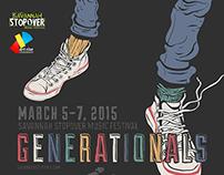 Generationals Band Poster