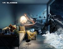 【VR加勒比历险】创意合成海报