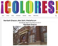 ¡COLORES! Website Redesign