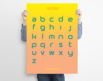 Duro custom typeface