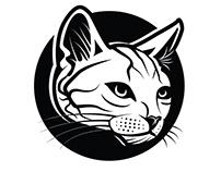 Cat vector art