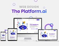 ThePlatfrom.ai Web Design
