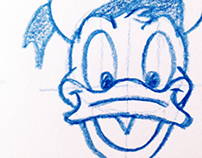 """Disney """"Fab 5"""": Step by Step Classic Character Sketches"""