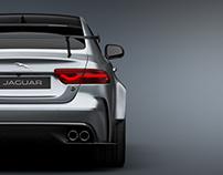 Jaguar XE SV Project 8 Screen Renderings