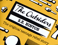 "Penguin book awards - ""the outsiders"""