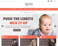 Kids - Shopify Ecommerce theme