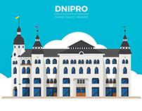 Dnipro, Ukraine Architecture