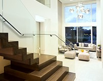 Contemporary Twilight by DKOR Interiors