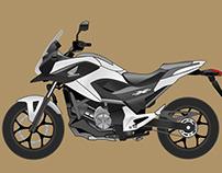 Honda NC700x Vector