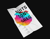 NUITS SONORES - Affiche de festival